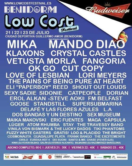 LOW COST FESTIVAL, Maria Vives